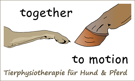 Logo Together to motion - Sandra Pawlik - Tierphysiotherapeutin (TPVD)