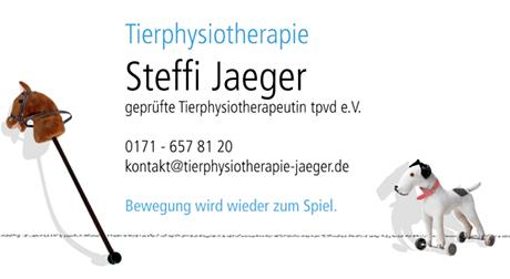 Steffi Jaeger Tierphysiotherapie
